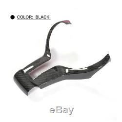 Dry Carbon Car Steering Wheel Cover Fit For BMW F82 M4 F80 M3 F12 M6 14-17