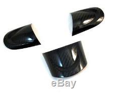 Dry Carbon Steering Wheel Cover Kit for MINI Cooper S R55 R56 R57 MFSW 07-13