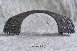 EAS Carbon Fiber Upper Steering Wheel Trim for E46 M3 RARE