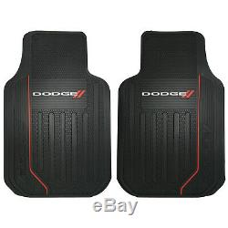 Elite Sideless Seat Cover Rubber Floor Mats Steering Wheel Universal for Dodge