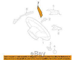 FORD OEM 05-09 Mustang Steering Wheel-Cover Panel 4R3Z3D758AA