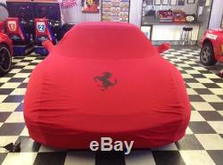 Factory OEM Ferrari 360 Spider Cover, Bag, 2 Seat Covers, 1 Steering Wheel Cover