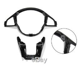 Fit For Mercedes Benz Sport AMG Steering Wheel Carbon Fiber Replacement Cover