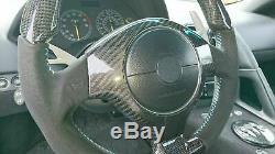 Fits All Lamborghini Murcielago 01-10 Carbon Fiber Steering Wheel Center Cover
