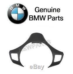 For BMW E90 325i 325xi 330i 330xi Black Steering Wheel Cover Genuine 32306767211