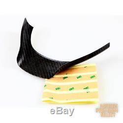 For BMW F10 REAL CARBON FIBER STEERING WHEEL COVER TRIM