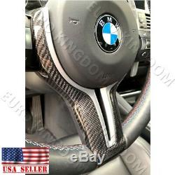 For BMW F80 M3 F82 M4 Carbon Fiber MP Replacement Steering Wheel Cover Silver M