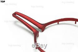 For BMW F80 M3 F82 M4 F10 M5 M6 X5M X6M M2 M Series ABS Steering Wheel Cover Red