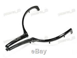 For BMW M Series M2 M3 M4 M5 M6 X5M X6M Carbon Fiber Steering Wheel Cover Trim