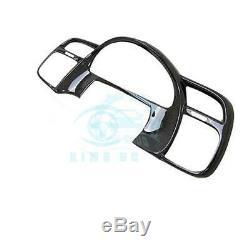 For Honda S2000 AP1 AP2 2000-2008 Carbon fiber steering wheel car cover Trim