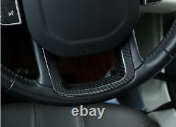 For Land Rover Range Sport 14-20 carbon fiber Steering wheel U type cover trim