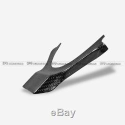 For Lexus IS250 IS300 2013+ Carbon Fiber Car Steering Wheel Cover Inner Parts