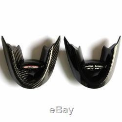 For Mini Cooper F55 F56 F54 F57 F60 Union Jack Carbon Fiber Steering Wheel Cover