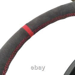 For Porsche 911 996 Carrera Boxster S 986 1998-04 Suede Steering Wheel Cover