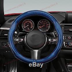 For Suzuki Vitara 2016-2017 Carbon fiber steering wheel cover 1pcs set