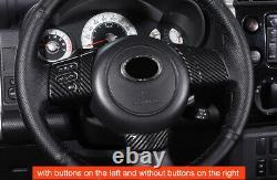 For Toyota FJ Cruiser 2007-2014 Steering Wheel Panel Sticker Cover Molding 7pcs