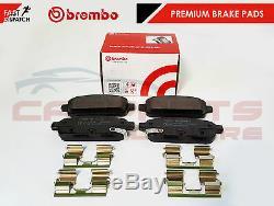 For Vauxhall Astra J Gtc Mk6 Vxr Rear Genuine Brembo Brake Pads Brand New