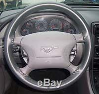 Ford Leather Steering Wheel Cover Wheelskins Custom Fit You Pick the Color