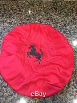 Genuine Ferrari F430 458 612 599 California Steering Wheel Cover Oem