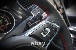 GENUINE VW OEM MK7.5 NEW GOLF GTI MULTIFUNCTION COMPLETE STEERING WHEEL WithAIRB