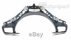 Genuine BMW Chrome/Black Steering Wheel Trim Cover X1 E84 E81 E82 E88 E90 E91