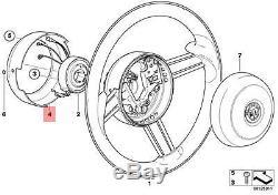 Genuine BMW E52 Steering Wheel Cover black Multifunction OEM 32306753459