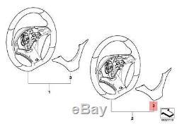 Genuine BMW E70 Steering Wheel Cover M Performance Alcantara OEM 32302181581