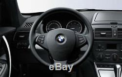 Genuine BMW E83 X3 Steering Wheel Left & Right Trim Cover Black 32303455489-490