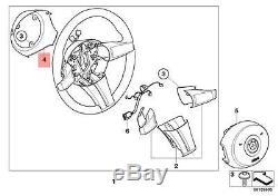 Genuine BMW E85 E86 Coupe Roadster Steering Wheel Cover black OEM 32346758398
