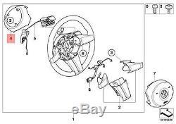 Genuine BMW E85 E86 Coupe Roadster Steering Wheel Cover black OEM 32346763586