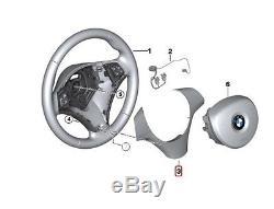 Genuine BMW E87 E90 Steering Wheel Cover black OEM 32306767283