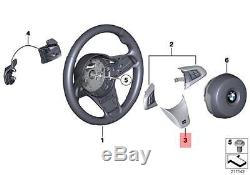 Genuine BMW E89 Roadster M Sport Steering Wheel Cover black OEM 32307842544