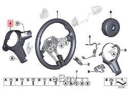 Genuine BMW F06 F06N F10 F12 Steering Wheel Cover Trim rear OEM 32307848270