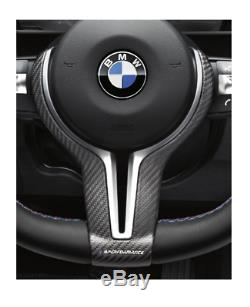 Genuine BMW M Carbon Steering Wheel Cover M2/M3/M4 PN 32302345203 UK Race