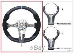 Genuine BMW M Performance Pro Steering Wheel Cover 32302345203 M2/M3/M4 PN UK