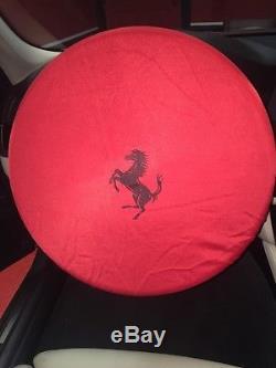 Genuine Factory OEM Ferrari Steering Wheel Cover