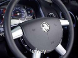 Genuine Holden Commodore VY VZ Steering Wheel Inserts Spoke Covers Silver WK WL