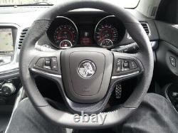 Genuine Holden Steering Wheel Carbon Look Trim for VF SV6 SS SSV Redline S1 S2