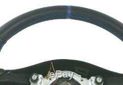 Genuine Seat Leon Cupra R 1M steering wheel retrimmed in nappa leather. 3D