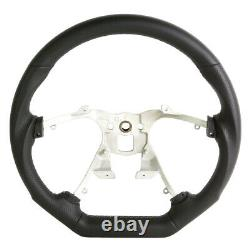 Handkraftd 07-13 Chevy Silverado Suburban Steering Wheel Black withGray Stitch