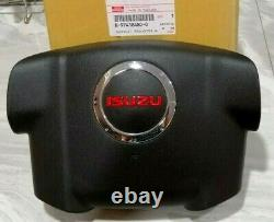 Isuzu D-max Cover Steering Wheel Horn Press Red D-max 2007-2011 Genuine Parts