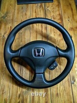 JDM HONDA ACCORD INTEGRA DC5 TYPE S Steering Wheel Genuine MOMO OEM