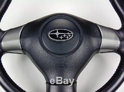 Jdm Subaru Legacy Steering Wheel Leather Bp Bpe Bp5 Bl Bl5 Bl9 Bp9 Kouki 2004-09
