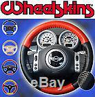 Lexus Perforated Custom 1 or 2 Color Leather Steering Wheel Cover Eurotone Tone
