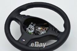 M3 M5 Steering Wheel BMW E46 E39 X5 E53 M3 M5 Leather sport NAPPA M STITCH THICK