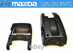 MAZDA GENUINE OEM RX-7 FC3S Steering Wheel Column Cover Lower&Upper&Holder JDM