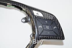 MERCEDES AMG C63 W204 CLS W218 E63 W212 W172 W231 CARBON Steering Wheel Cover