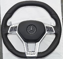 MERCEDES BENZ AMG Badge C63 W204 W218 E63 W212 W172 W231 Steering Wheel Cover