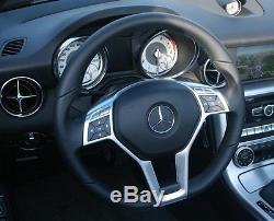 MERCEDES BENZ AMG C63 W204 CLS W218 E63 W212 W172 W231 Steering Wheel Cover