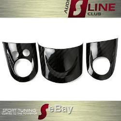 MINI Cooper R55/R56/R57 Carbon Fiber Steering Wheel Cover Set